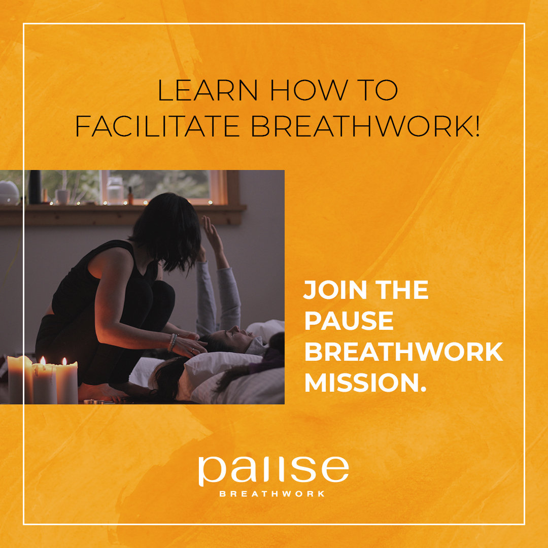 Pause Breathwork Promo Graphic